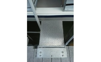 "36"" HINGED  DOCK/SEAWALL PLATFORM"