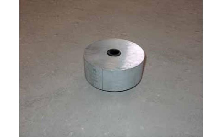 Wheel 5 x 2 inch Aluminum