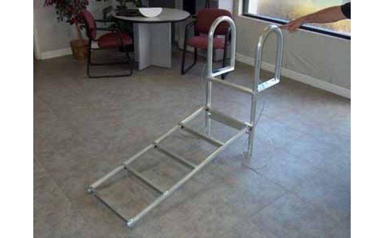 4' Aluminum Dock Ladder, Slide