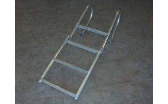 9' Aluminum Dock Ladder, Rigid