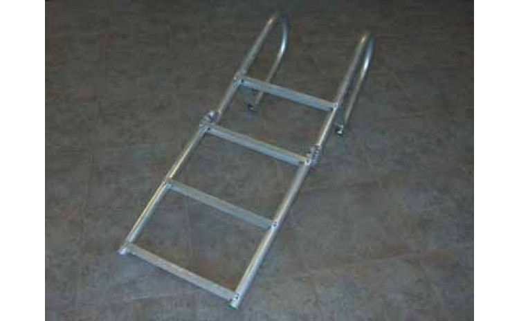 9' Aluminum Dock Ladder, Rigid