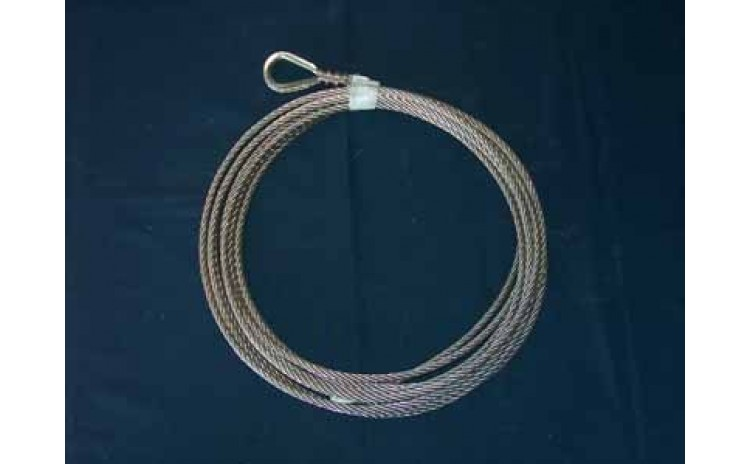 5/16 Cable Kit. Stainless Steel. 50 feet