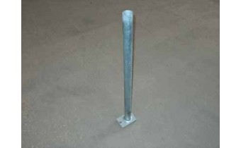 Pipe Guide, Econo, Galvanized steel