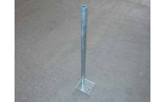 Pipe Guide, Galvanized, Standard