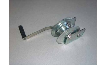 1200lb Manual Winch with Brake.