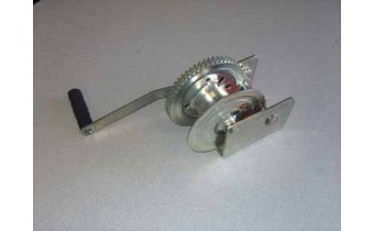1500lb Manual Winch with Brake