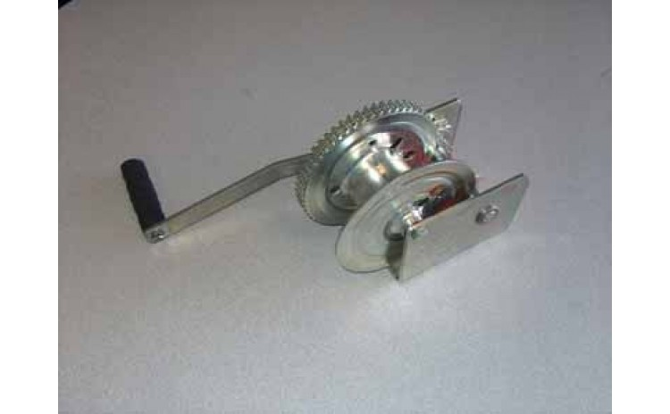 1500lb Manual Winch with Brake